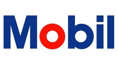 Mobil Oil - ITC Avant Garde Gothic Bold font.