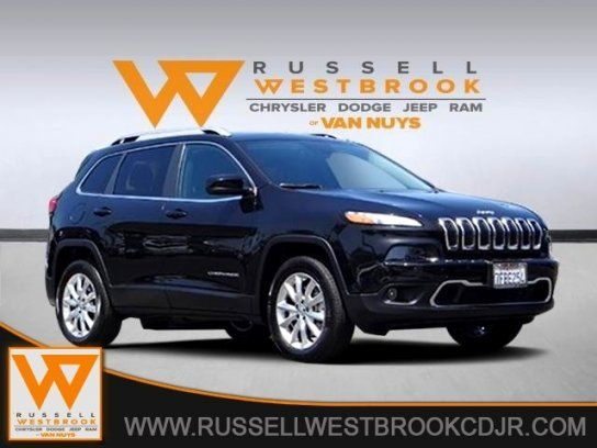 Sport Utility 2014 Jeep Cherokee Limited With 4 Door In Van Nuys