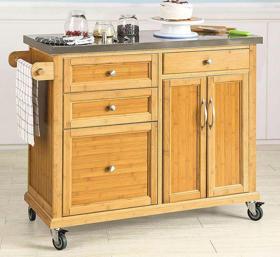 Piatti Della Germania In 2020 Kitchen Kitchen Island Cart