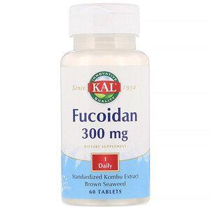 Kal Fucoidan 300 Mg 60 Tablets Iherb Functional Food Iherb Health And Nutrition