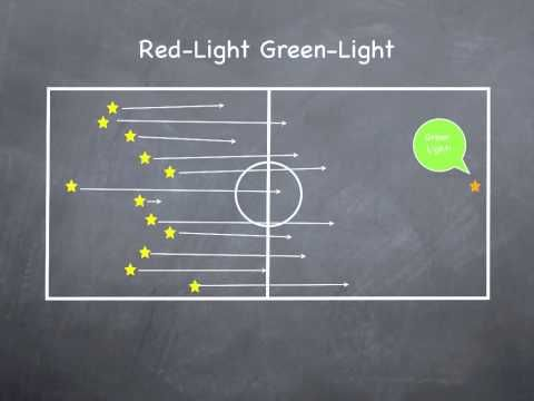 ▶ Physical Education Games - Red-Light Green-Light - YouTube
