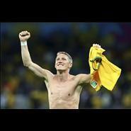 Bastian Schweinsteiger, Football photo, Bastian Schweinsteiger v Brazil 2014 World Cup