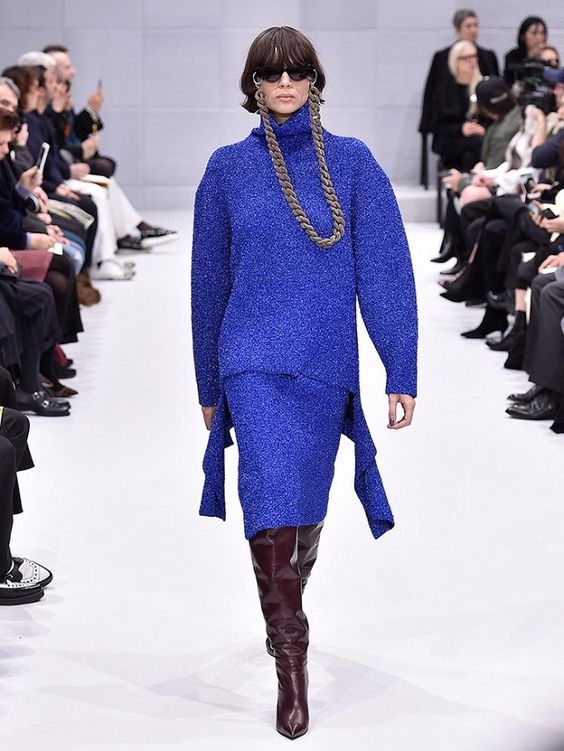 The Balenciaga Runway Debut Vogue's Calling 'Sensational' | WhoWhatWear