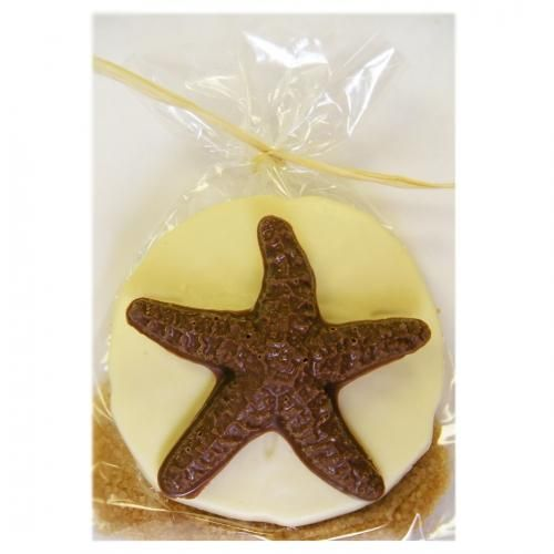 starfish chocolate favors | Starfish And Sand Dollar Gift Bag Wedding Favor