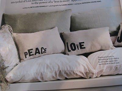 V-Day pillows