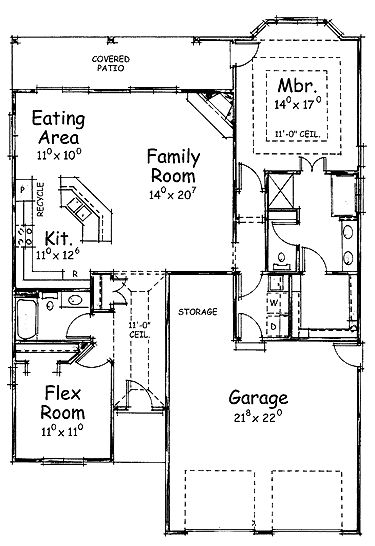 House Plans Open Games And Ranch Home Plans On Pinterest