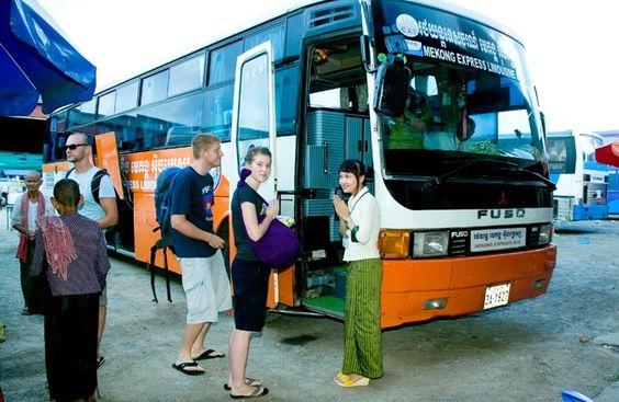 Đến Campuchia bằng xe khách là một lựa chọn không tồi