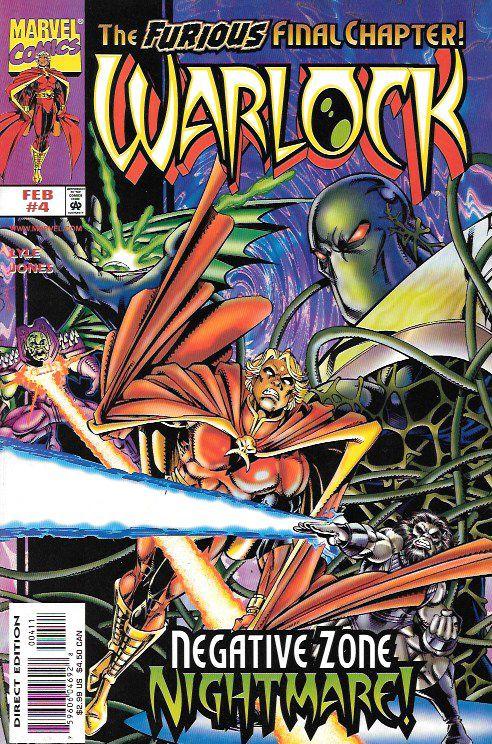 Warlock  # 4  Marvel Comics