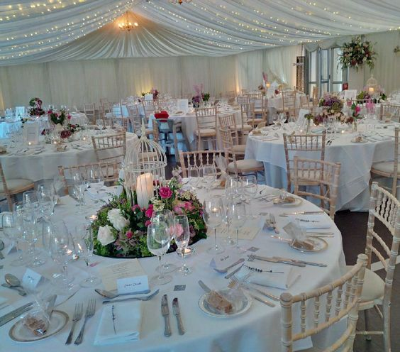 We can arrange to set up all the finishing touches to your wedding day. www.bluethistleweddings.co.uk Copyright Blue Thistle Events Ltd Please do not copy or reproduce without permission.  Thank you.