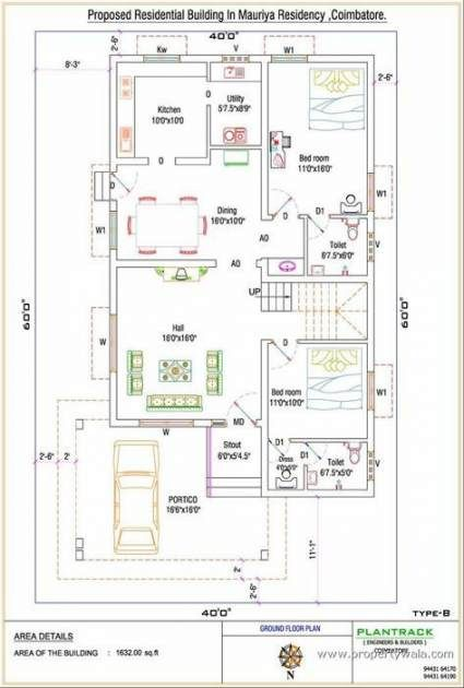 31 Ideas House Plans Indian Style 2bhk For 2019 30x40 House Plans Indian House Plans Free House Plans