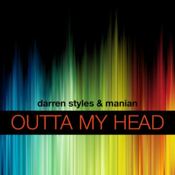 Darren Styles, Manian – Outta My Head (single cover art)