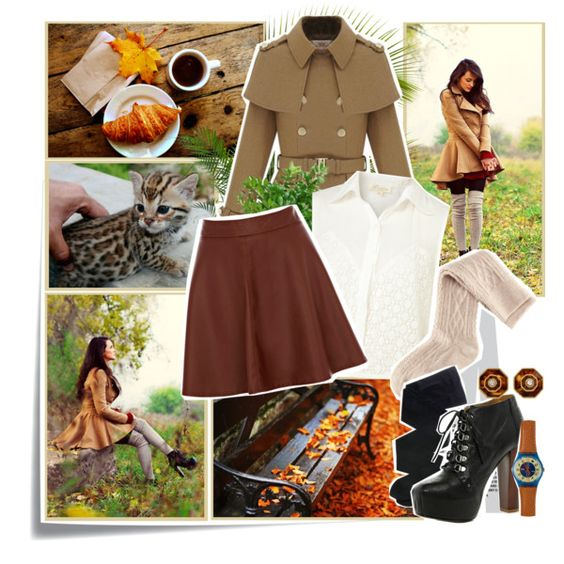 """Autumn walk."" by annabella-23 on Polyvore"
