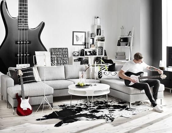 Inredning soffor mio : Toronto soffa i tyg Rocco grey från Mio. | Vardagsrum | Pinterest ...