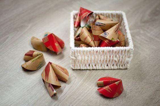 witzige Geldgeschenke   schön einpacken, Glückskekse, Geschenkidee, Gift wrapping ideas, DIY
