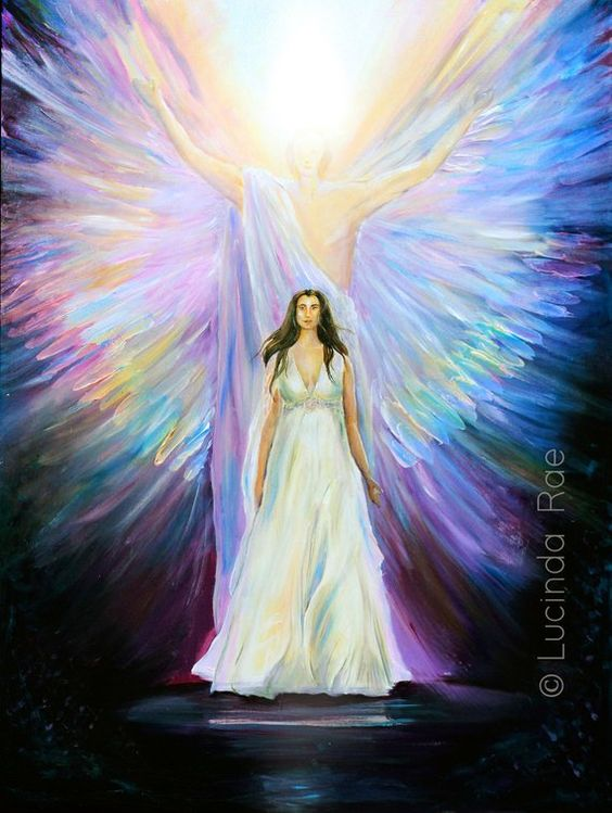 Daughter of the Light | Original Painting on canvas by Lucinda Rae | 30″ x 40″