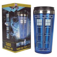 Doctor Who TARDIS 16 oz. Travel Mug | Dream Rave