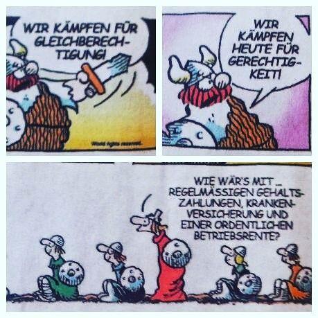 Also doch kein klassisches Frauenproblem #hägar #lustig