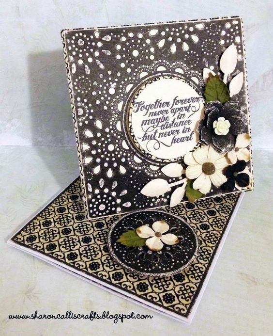 Crafters Companion card using new Die'sire Create a card die: