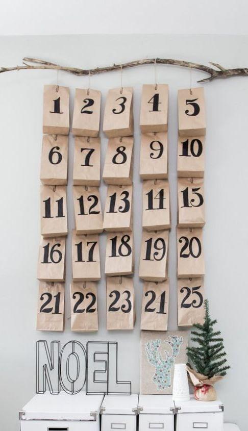 Scandinavian Advent Calendars And Inspiration For 24 Calendar Gifts Diy Advent Calendar Christmas Calendar Christmas Advent Calendar