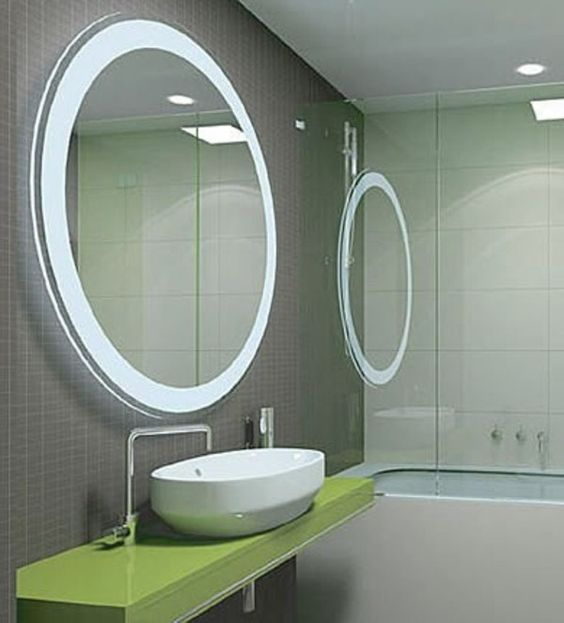 Bathroom Mirrors With Lights Attached Lighting Over Mirror Pinterest And Interiors