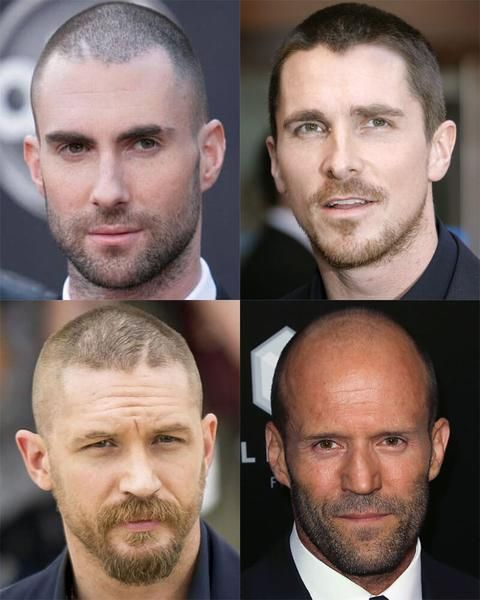 Best hairstyles for receding hairline, buzzcut