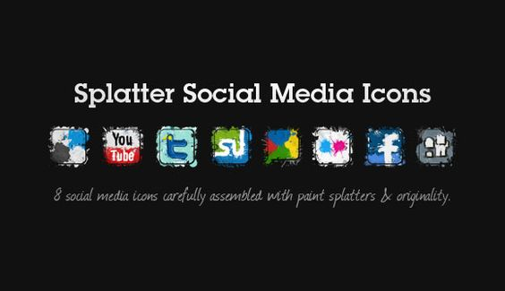 20 Free Social Media Icon Sets for your website/blog