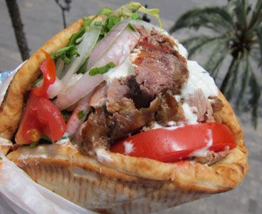 how to make shawarma meat