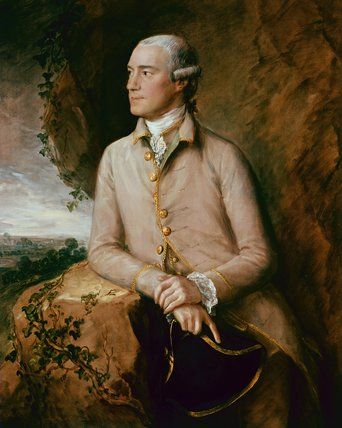 Joshua Grigby, by Thomas Gainsborough. Private Collection