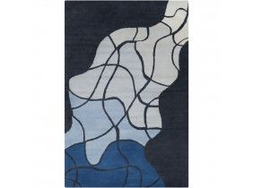 Filament- Allie Wool, Hand-Woven Rug 5'W x 7'6