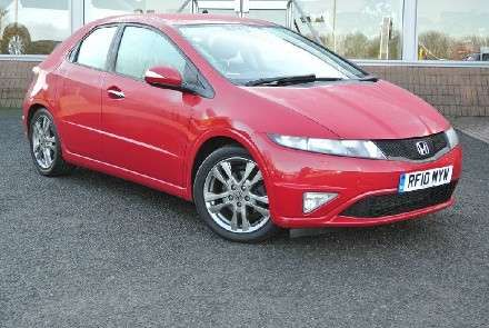 Used 2010 (10 reg) Red Honda Civic 2.2 i-CTDi Si-T 5dr for sale on RAC Cars