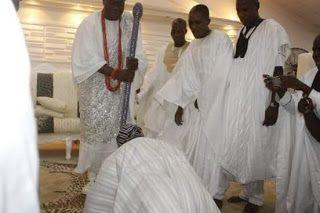 kolly Moore's blog: Ooni ti Ife lo se abewo si Alake ti ilu Egba