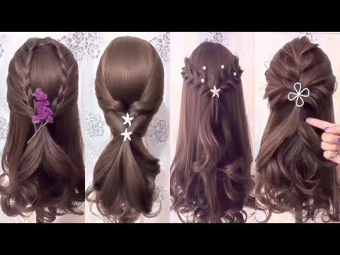 Cute Braid Back To School Hairstyles Youtube Haar Styling Haartutorial Frisuren Einfach