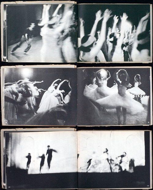 Pages from Alexey's book, Ballet. Image via Pinterest.