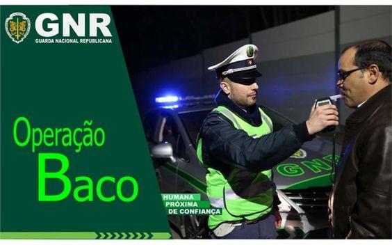 """Operação """"Baco"""" – GNR intensifica controlo de Álcool e Drogas   Elvasnews"""