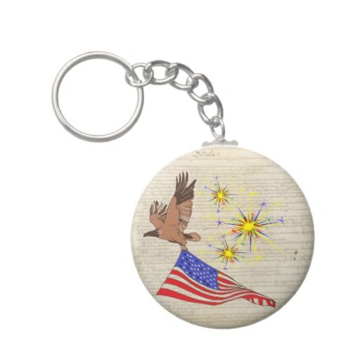 US Constitution Key Chains