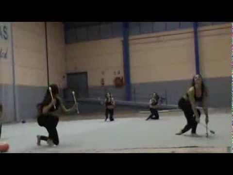 Exhibición Navidad 2013 Gimnasia Ritmica Las Gabias - YouTube