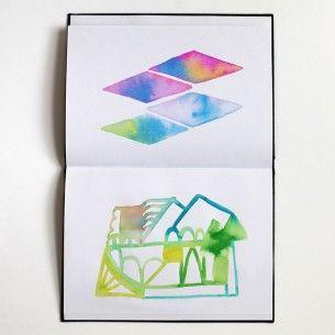 Ana Montiel sketchbook