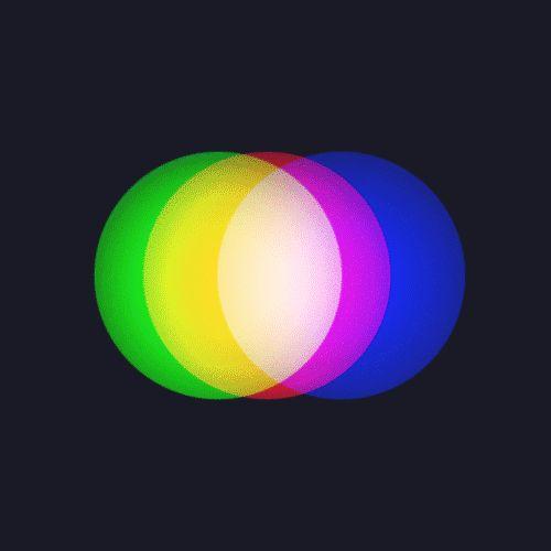RGB can produce up to 16 million unique colors!