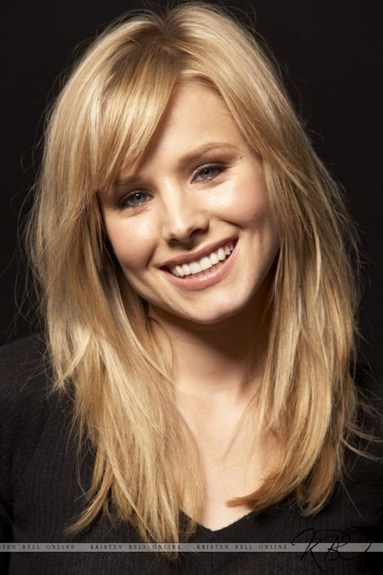 Hair inspiration - not colour, layers and bangs