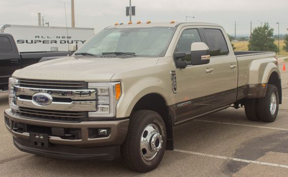 Does it matter that the new 2017 Ford Super Duty is aluminum like the F-150? The…