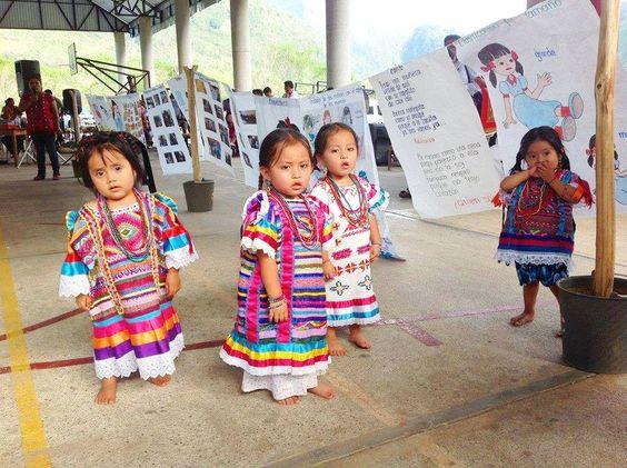 pequenas bellezas Chinantecas, o sea del Estado de Oaxaca