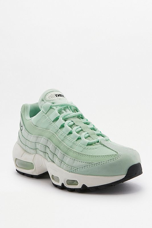 Sales Nike Air Max 95 SE Glitter Trainer Women Particle Rose