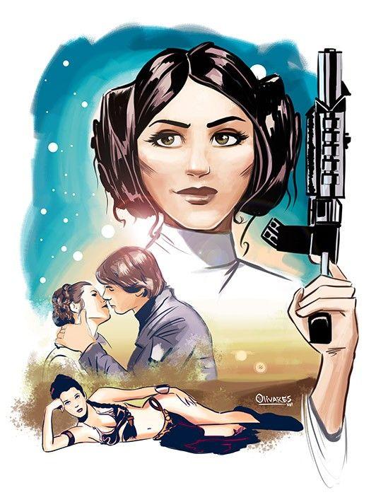 Princess Leia Star Wars Art Princess Leia Art Star Wars Poster
