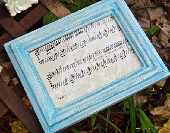 Music to my Heart by Nadya on Etsy
