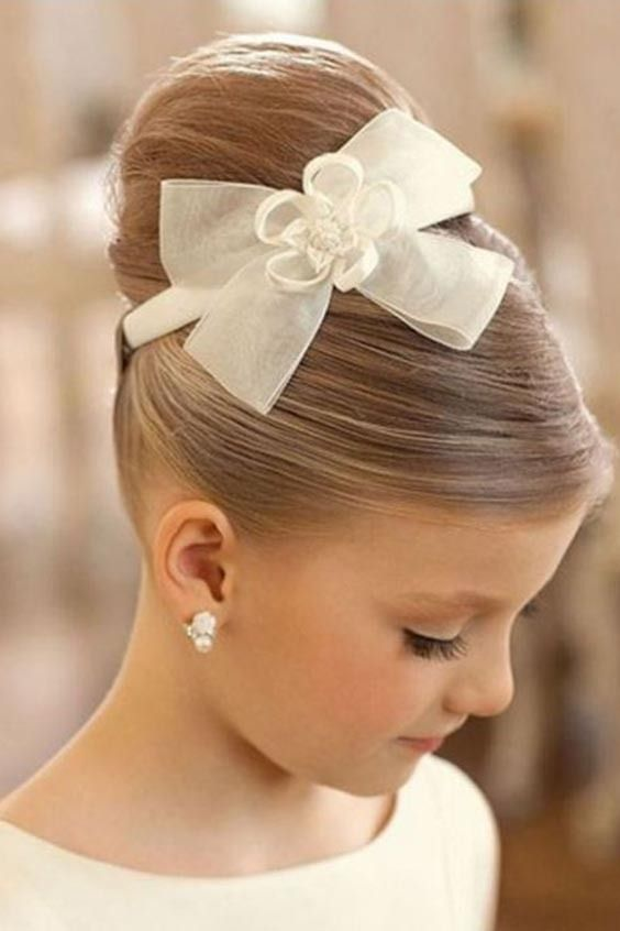 Girls Hairstyles Wedding Kids Hairstyles For Wedding Flower