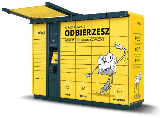 Paczkomat Inpost Locker Storage Lockers Home Decor