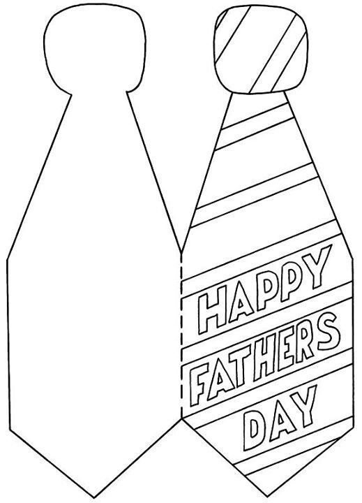 Found On Bing From Www Pinterest Com Father S Day Card Template Fathers Day Coloring Page Fathers Day Art