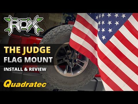 The Judge Flag Mounting Kit Install Review From Rox Offroad For Jeep Wrangler Youtube In 2020 Jeep Jeep Wrangler Tyre Size