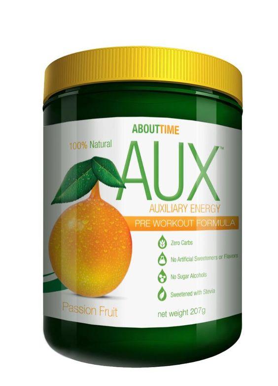 AUX, All Natural pre workout http://www.shopabouttime.com/ProductDetails.asp?ProductCode=auxpreworkout
