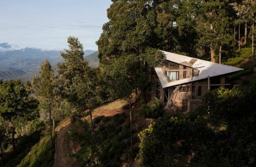 Casas de sonho: Mansão inspirada numa ave tropical nas montanhas da Índia (fotos)